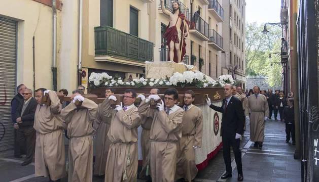Procesión de Domingo de Resurrección en Pamplona