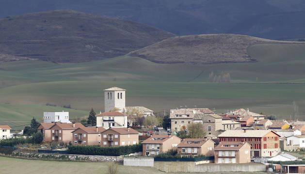 Vista general de la localidad de Tajonar.
