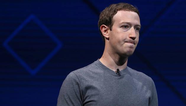 Foto del consejero delegado de la red social, Mark Zuckerberg.