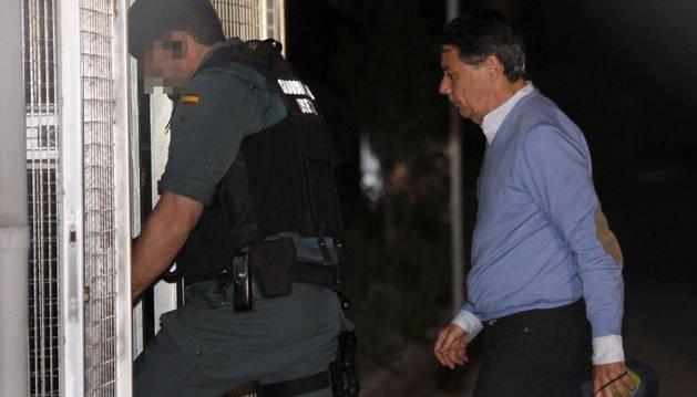 Foto del expresidente de la Comunidad de Madrid, Ignacio González, detenido por supuesta corrupción en el Canal de Isabel II.