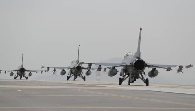 Maniobras en el Pacífico entre Corea del Sur y EE.UU.