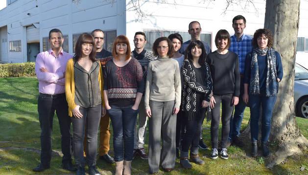 foto del Equipo técnico de CEMITEC que ha trabajado en el diseño de los productos de Mateprincs