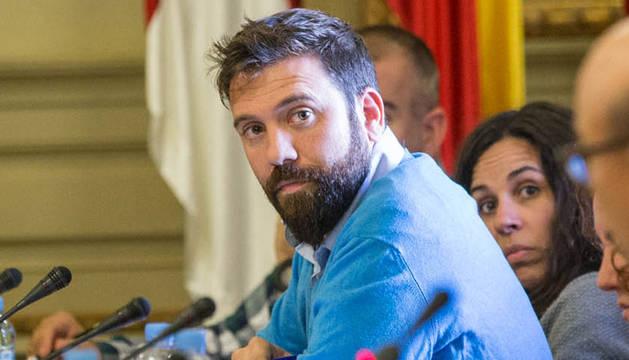 Carlos Moreno, exportavoz de UPN en el Ayuntamiento de Tudela.