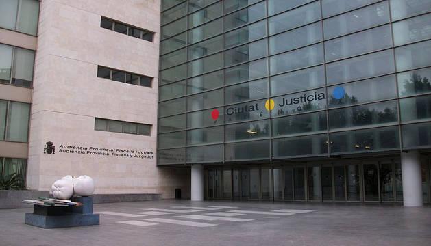 Imagen de la Audiencia Provincial de Valencia.