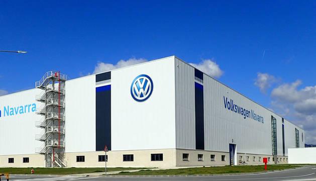 foto de Nueva nave de Chapistería de Volkswagen Navarra.