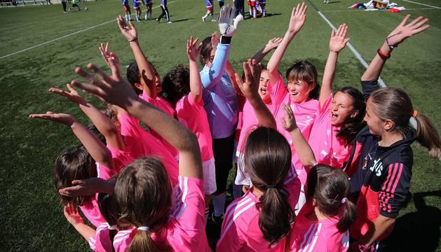 Semifinales del I Interescolar femenino