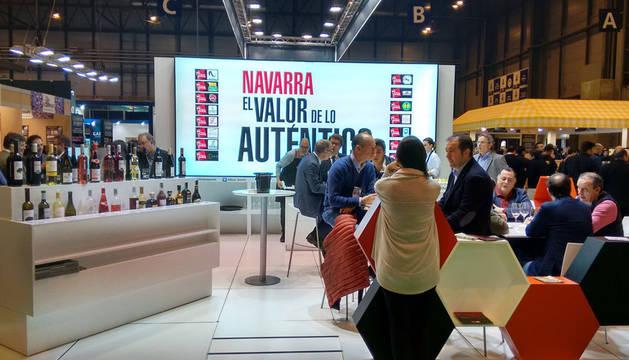 foto del Stand de Navarra en el anterior Salón de Gourmets