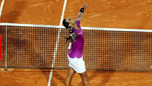 Nadal derriba el muro de Schwartzman y llega a semifinales de Montecarlo