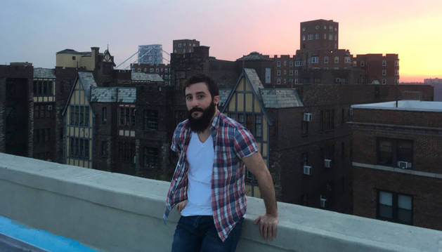 Jon LIzarraga en una imagen tomada esta semana en Nueva York.
