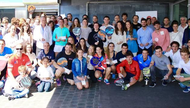 Foto de grupo de la tercera prueba