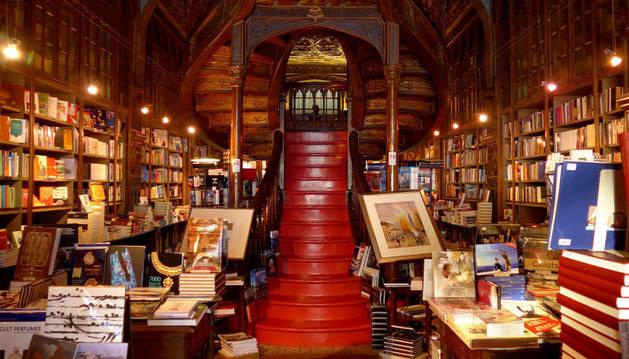 Imagen de la librería portuguesa Lello, donde se celebran las jornadas.