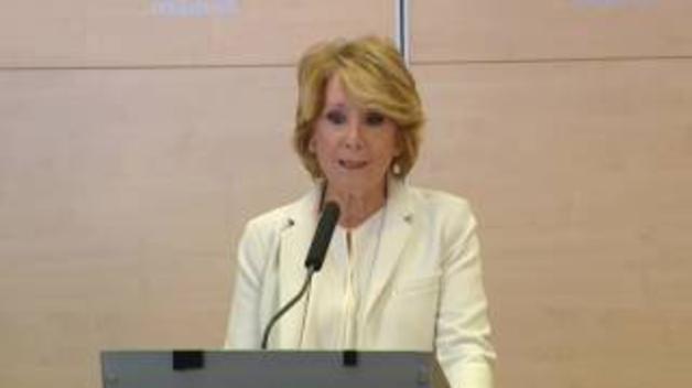Esperanza Aguirre dimite como concejal del Ayuntamiento de Madrid