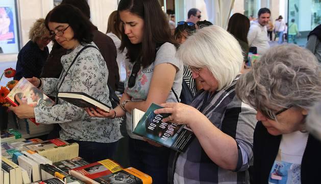 Celebración del Día del Libro 2017 en Pamplona