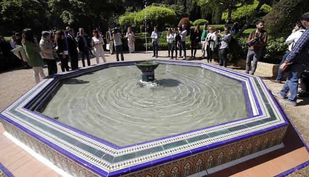 Los jardines de marivent del rey en mallorca se podr n for Los jardines esquelas