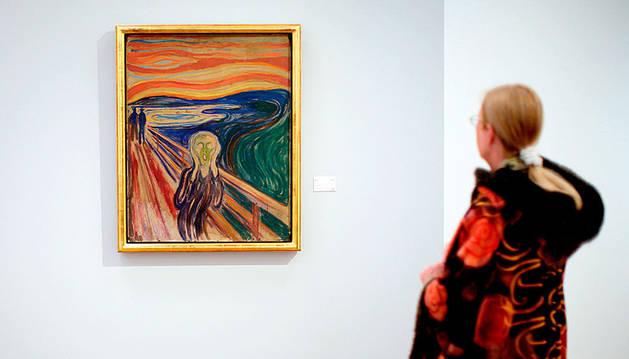 El curioso fenómeno escondido en el cielo rojizo de 'El grito' de Munch