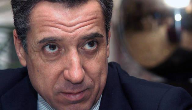 Fotografía de archivo, tomada el 20-02-08, del exdirigente del PP Eduardo Zaplana.
