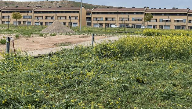 Los primeros huertos urbanos de Viana se crearán en una finca del barrio de La Vizcaína.