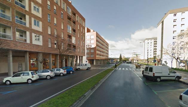 Grave tras ser atropellada en un paso de peatones en Pamplona