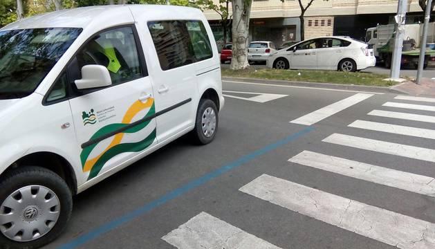 Los lectores de Diario de Navarra denuncian pasos de cebra en Pamplona peligrosos o por situaciones de riesgo.