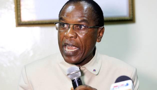 El jefe de Sanidad liberiano, Francis Kateh