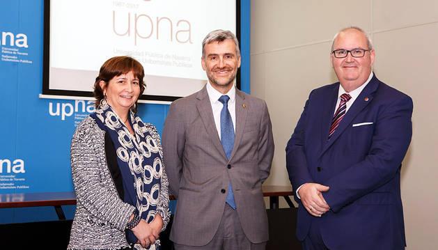 Presentados los actos para el 30 aniversario de la UPNA