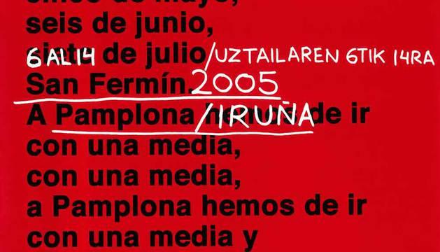 ¿Recuerdas todos los carteles de San Fermín de este siglo?