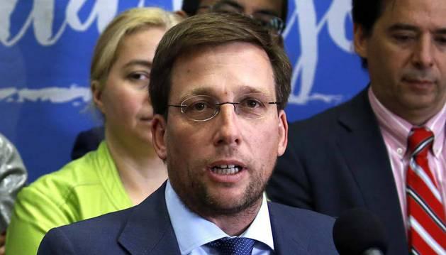 Imagen de José Luis Martínez-Almeida, nuevo portavoz del PP en el Ayuntamiento de Madrid.