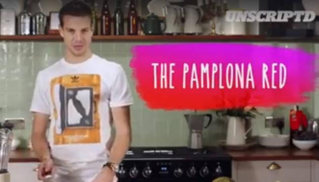 Imagen del vídeo en el que se elabora la receta.