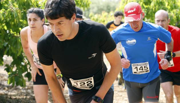 Carrera de montaña celebrada este sábado en Bidaurreta.