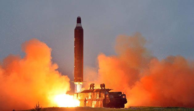 Una unidad de lanzamiento de misiles balísticos intercontinentales.