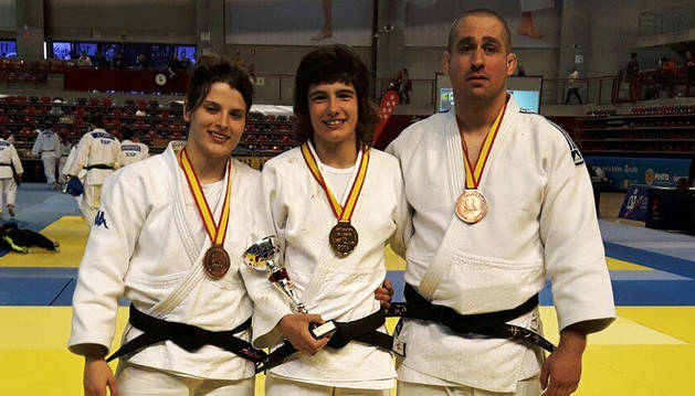 Tres medallas navarras en el Campeonato de España Sénior