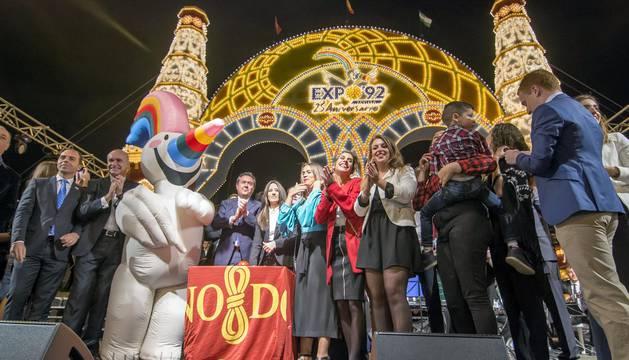 El 'Alumbrao' da inicio a la Feria de Abril 2017