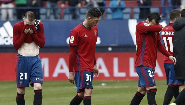 Galería de imágenes del partido disputado en El Sadar.