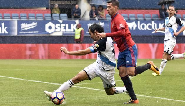 Imágenes correspondientes al encuentro de la Jornada 35 disputado en el estadio de El Sadar.