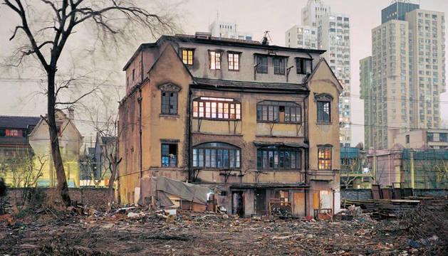 Una antigua casa en Shangai.