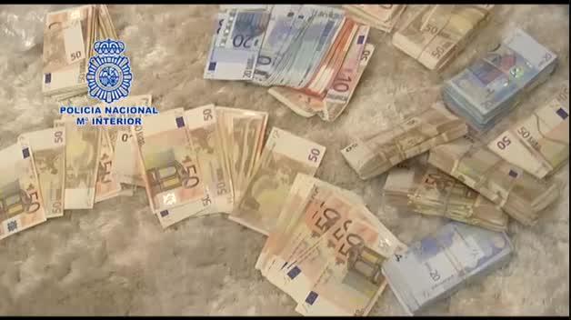 Operación contra el narcotráfico en Campo de Gibraltar