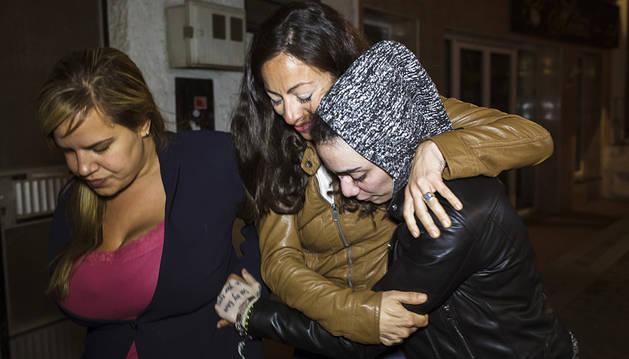 La joven desaparecida en Turquía y su novia llegan a su casa en Torrox