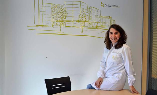 Carolina González Ferrero, que dirigirá el estudio de la Dieta Primicia, en CNTA en cuyo departamento de I+D+i trabaja.
