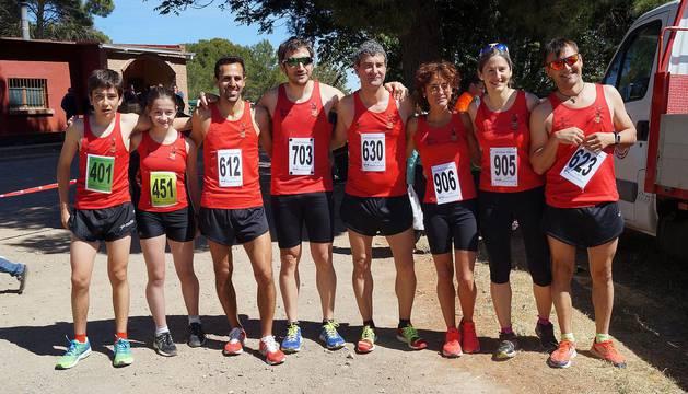 Galería de imágenes de la carrera, en la que han resultado vencedores Iván Muñoz y María Ríos.