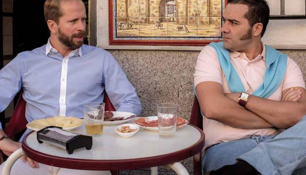 Imagen del dúo humorístico 'Los compadres'.