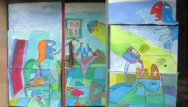Segunda edición del concurso de decoración de fachadas de bajeras de jóvenes
