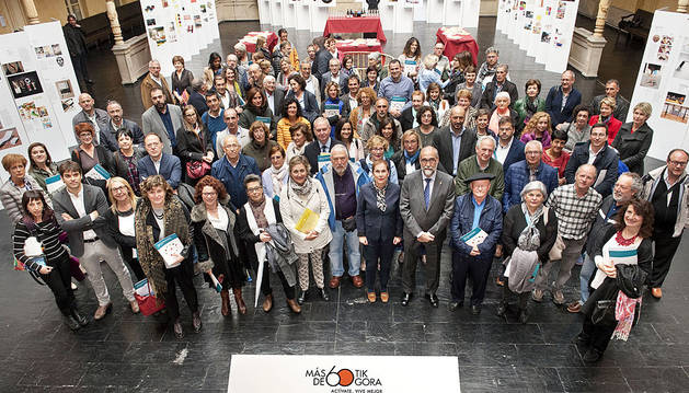 Barkos apuesta por una estrategia solidaria para un envejecimiento saludable