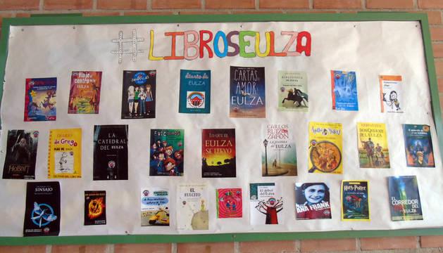 Semanas del Libro en Eulza y Santa Luisa de Marillac