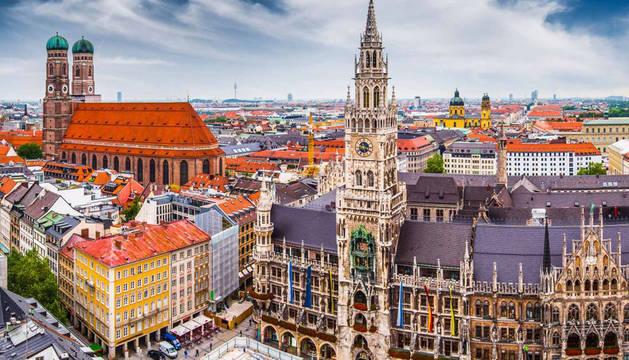 El hotel estaba en la ciudad de Munich.
