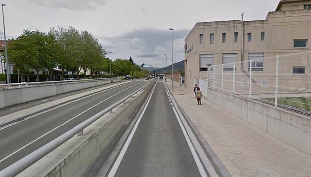 Sufre un accidente en Pamplona tras sufrir un problema cardíaco