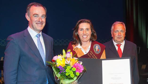 Beca de Honor del Deporte de la UN para Carlota Ciganda