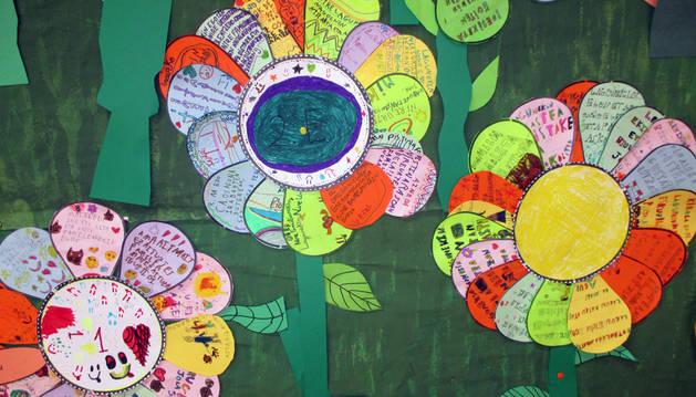 La comunidad educativa del colegio Alaitz crea su jardín del bienestar