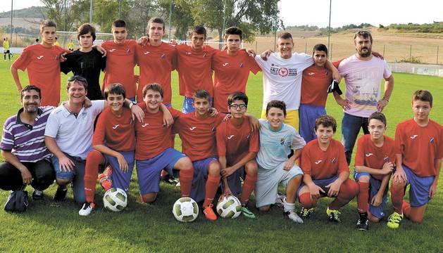 El Idoya de categoría Cadete acudió al partido en Funes con doce jugadores convocados, y varios de ellos lesionados.