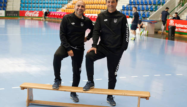 Miguel Hernández e Imanol Arregui.