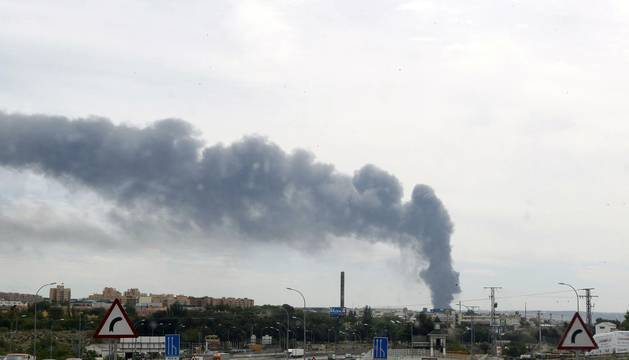 Explosión en una fábrica de reciclaje en Arganda del Rey